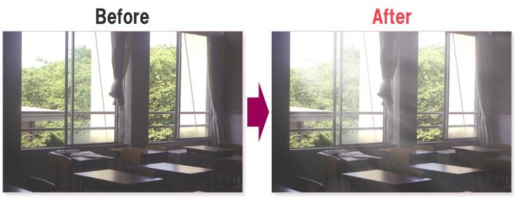 photoshopで差し込む光の作り方
